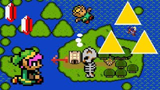The Legend of Zelda - The Triforce Island (Demo) • Super Mario World ROM Hack with Link