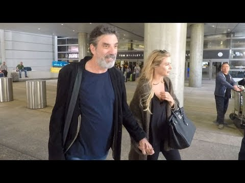 'Big Bang Theory' CoCreator Chuck Lorre Holds Hands With Girlfriend At LAX