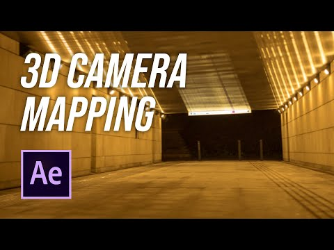 2D to 3D Projection mapping  |  Adobe After Effects Tutorial