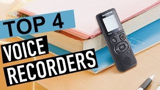 BEST 4: Voice Recorders 2018