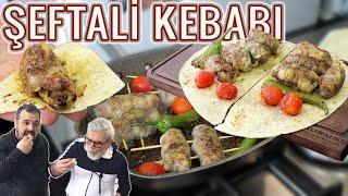 BABAMLA ŞEFTALİ KEBABI (Kıbrıs Şeftali Kebabı Nasıl Yapılır?) (Şeftali Kebabı Tarifi) Hacım Mutfakta