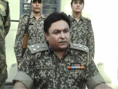 bsf women constables shoot dead pakistani intruder