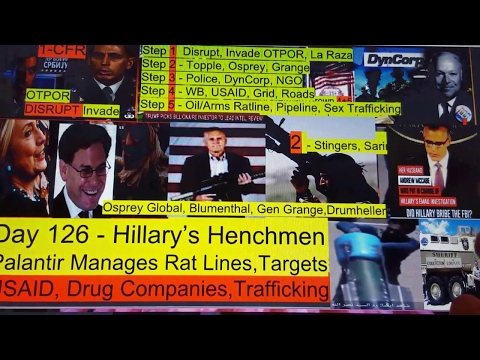 Day 126 - Hillary's Henchmen, Uncovering the Deep State, Part 5 (2-26-17)