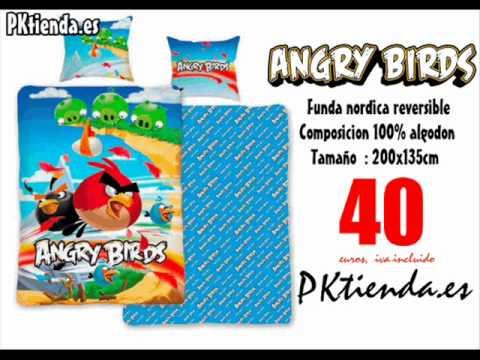 Funda nordica Angry Birds   YouTube