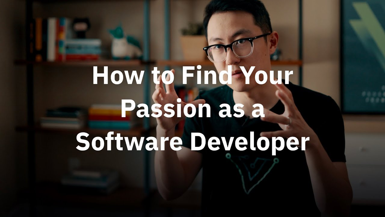 How to find your passion as a Software Engineer | from Vue.js creator Evan You