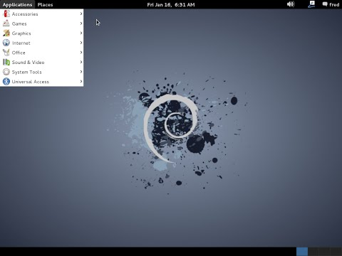 Debian 7.8.0 amd64. Installation. GNOME desktop.