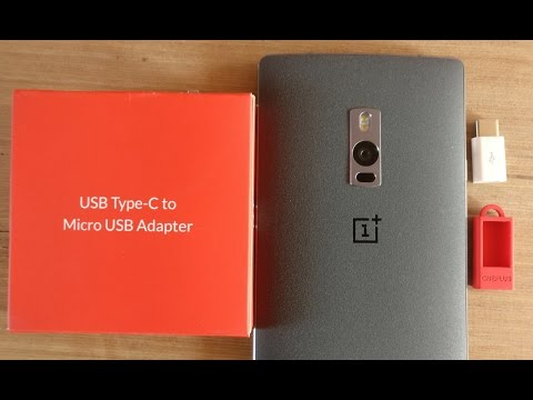How To Charge Oneplus 2 Mobile  With Normal Charger | How To Use Usb Type C Adapter | OnePlus 😎
