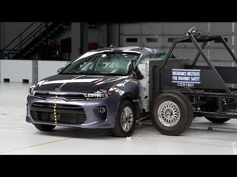 2018 Kia Rio Side IIHS Crash Test