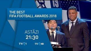 Best FIFA Football Awards 2018, în direct la TVR1 şi TVR HD