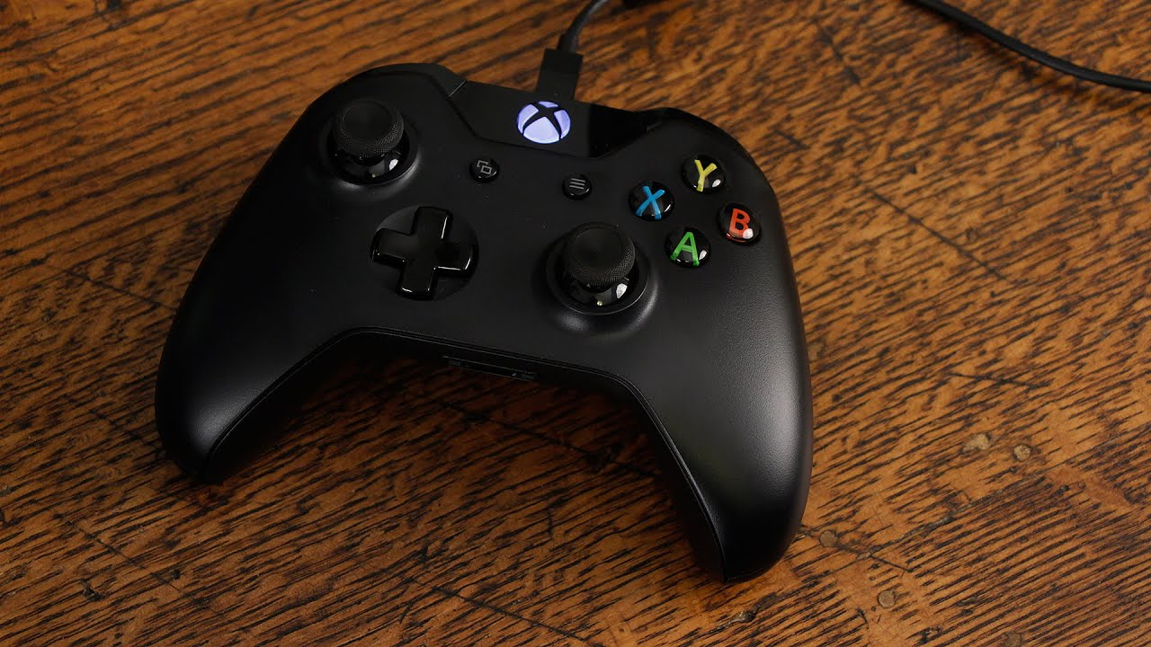 Xbox One Controller + Cable for Windows Unboxing - YouTube