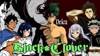 \A NEW FRIEND\ EP-03 Deku enters Black Clover {Izuku X Nero} Texting Story