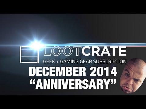 [Danish] Loot Crate - December 2014 - Anniversary!