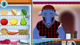 Веселая игра для детей: Готовим еду Toca Kitchen обзор игры