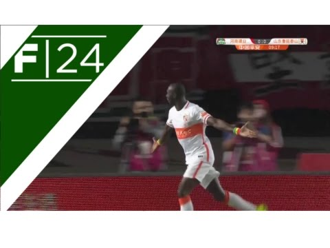 Cisse strikes for Shandong