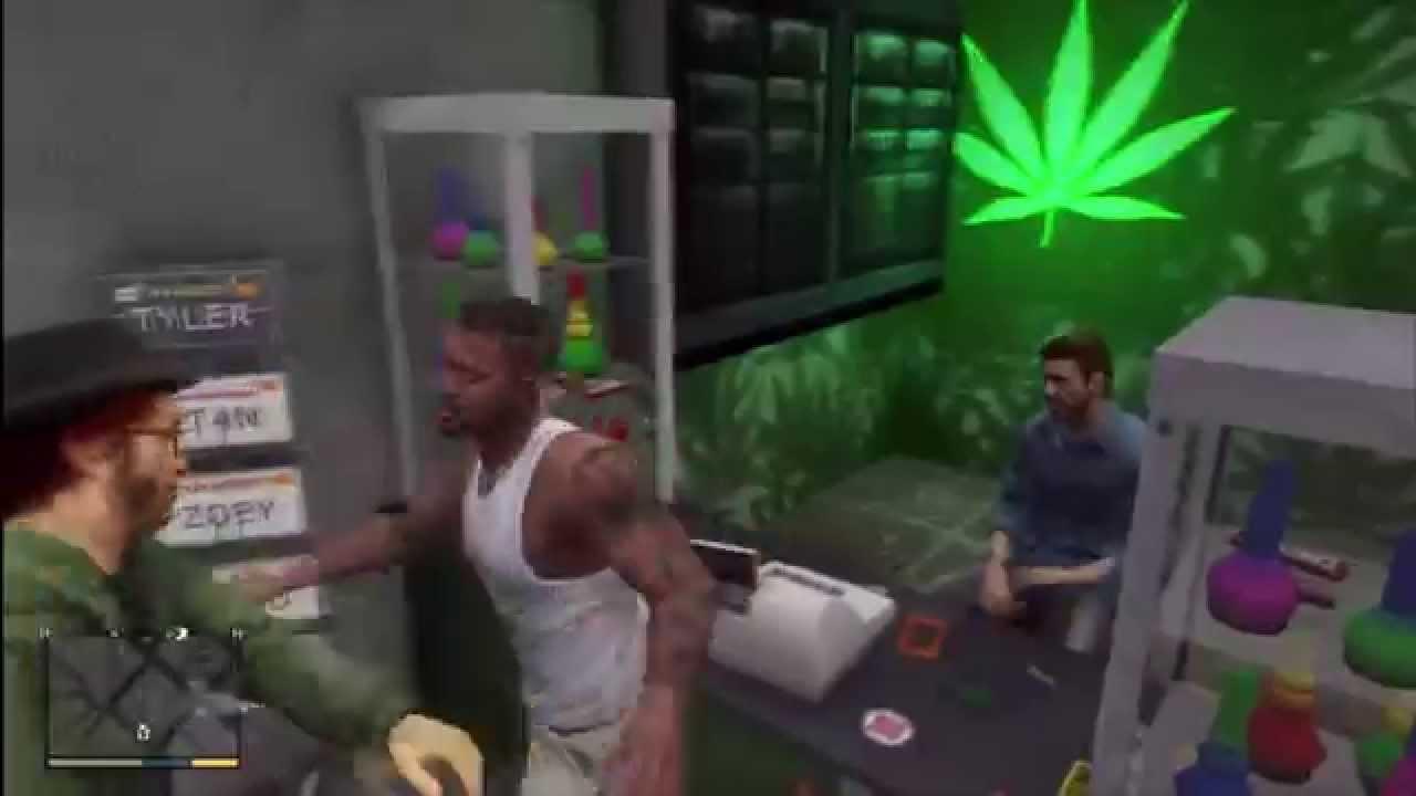 GTA V - Franklin - Weed Delivery