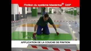 France Résine © Application d'une résine autolissante epoxy - Parking Lille Europe
