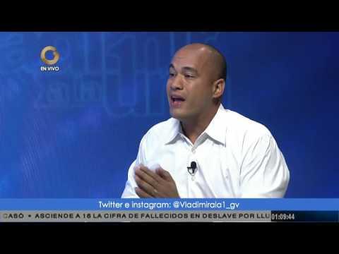 Rodríguez: Hay que administrar el conflicto político por la vía pacífica
