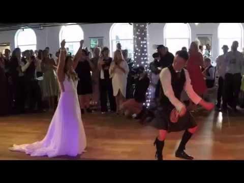 Jamie & Erin Wedding at Eskmills Venue