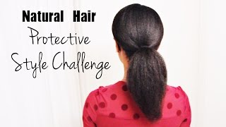 Official 2014-2015 Natural Hair Protective Style Challenge