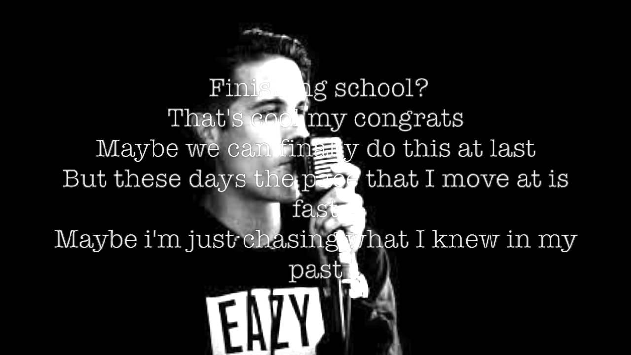 G Eazy Friendzone Lyrics Youtube