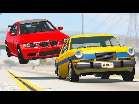 Extreme Car Crashes #182 - BeamNG Drive | CRASHdriven