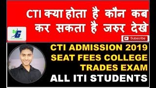 Full information about CTI (Central Training Institute for