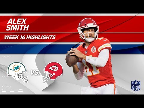 Alex Smith Highlights   Dolphins vs. Chiefs   NFL Wk 16 Player Highlights
