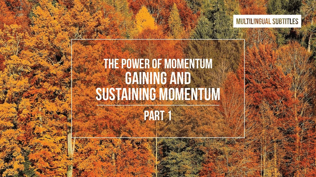 Download The Power of Momentum: Gaining and Sustaining Momentum - part 1