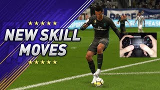 ALL NEW SKILLS & TRICKS IN FIFA 18 - LEARN THE (9) NEW SKILL MOVES!