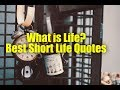 What is Life? Best Short Life Quotes