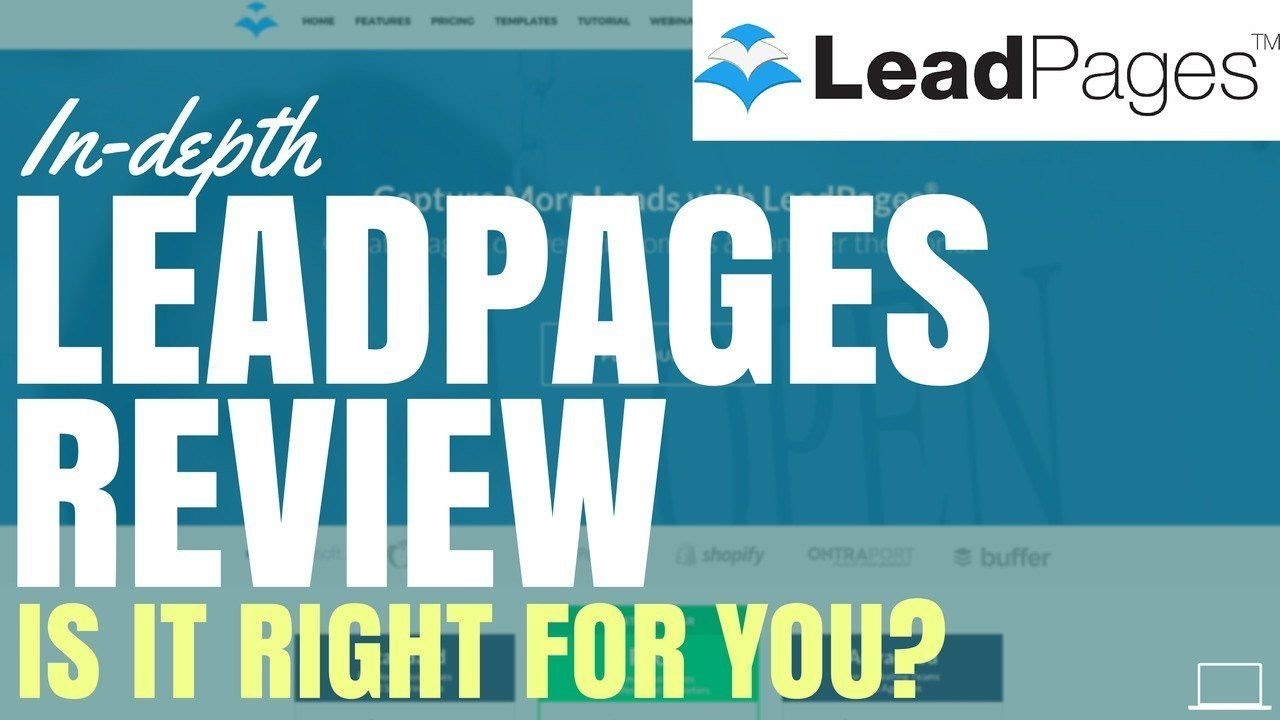 Leadpages Special Features