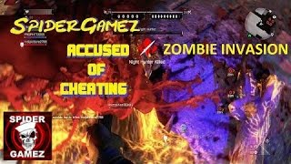Dying Light ZOMBIE INVASION SpiderGamez is CHEATING!?!