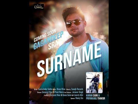 SURNAME GAGANDEEP SRA TEASER BY SAANJH RECORDS