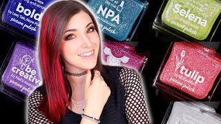 New Picture Polish Holo Glitter Nail Polish Swatches and Review! || KELLI MARISSA
