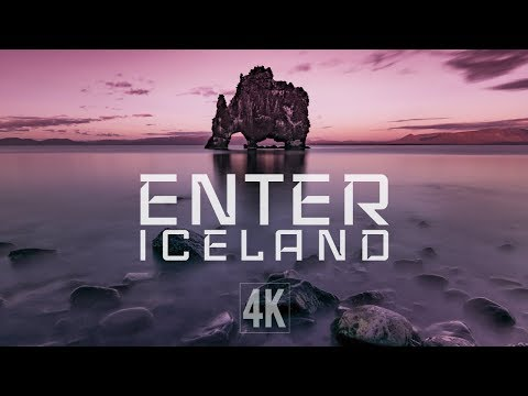 Play Enter Iceland 4K Drone Footage (Trailer)