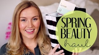 SPRING BEAUTY HAUL | Makeup, Skincare + Nails