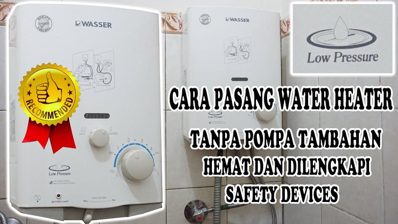 Review Wasser 506a Water Heater Gas By Water Heater Bandung Ms Teknik