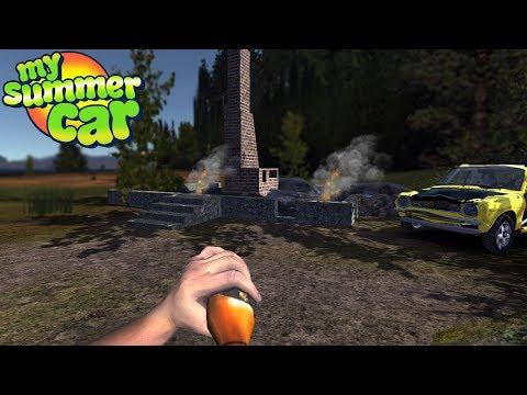 My Summer Car - MY HOUSE BURNT DOWN