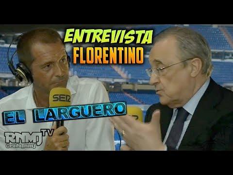Florentino Pérez ENTREVISTA en El Larguero (07/09/2017)
