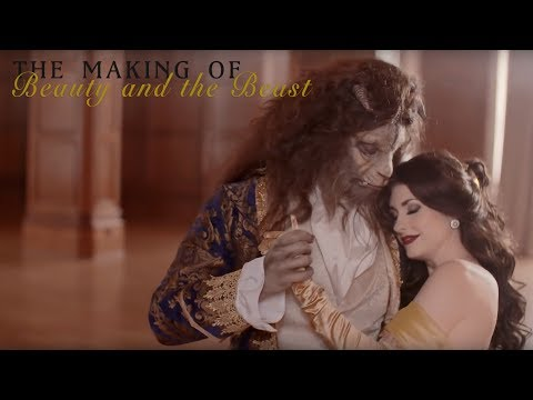 """The Making Of """"Beauty and the Beast"""" - Traci Hines & Nick Pitera"""
