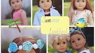 Summer Lookbook For Dolls - 10 Outfits