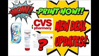 MUST WATCH! HOT UPCOMING DEALS | PRINT NOW UPDATES | HIGH VALUE COUPONS!