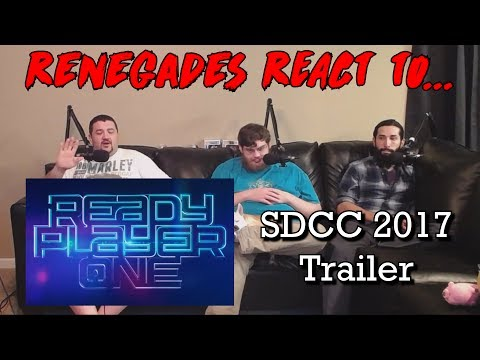 Renegades React to... Ready Player One - SDCC 2017 Trailer