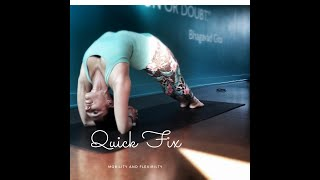 Quick Fix - Shoulders 1