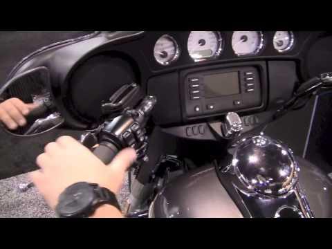 In The Cockpit 2014 FLHX Street Glide Harley-Davidson