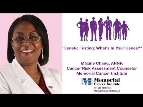 Genetic Testing For Cancer: What's in Your Genes?