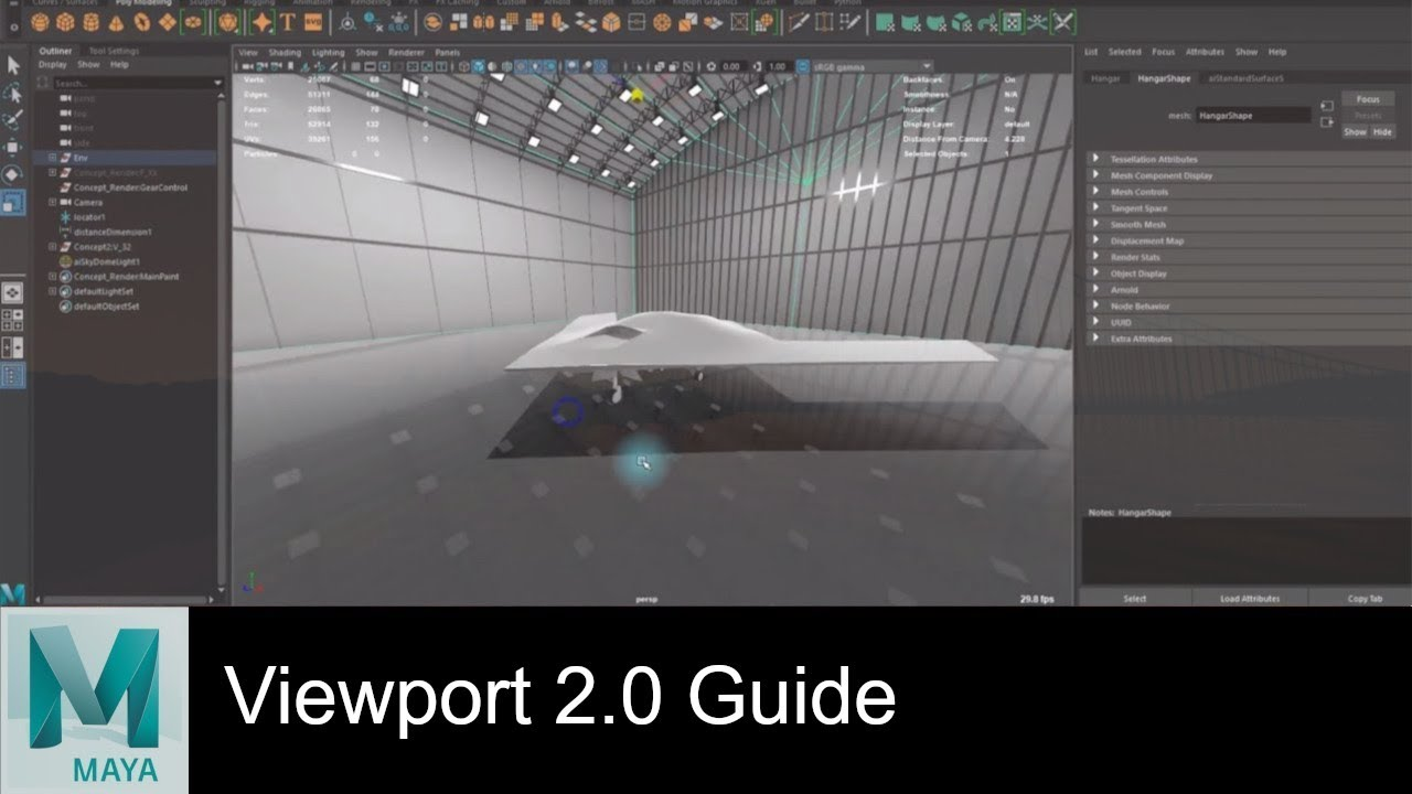 Maya 2018 Tips: Realtime Render with Viewport 2 0