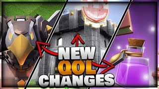 NEW Quality of Life Changes! | Clash of Clans Update News