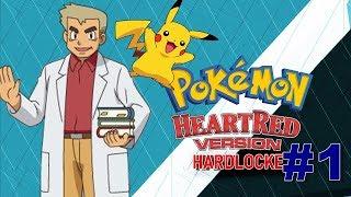 Pokemon Super Heart Red Hardlocke  EP. 1 El MEJOR JUEGO DE TODOS!