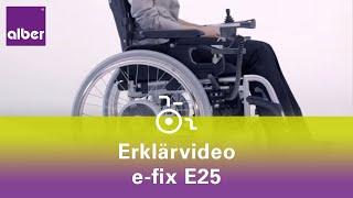 Alber e-fix - elektrischer Zusatzantrieb für Rollstühle